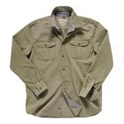Toby Heavy Khaki Work Shirt