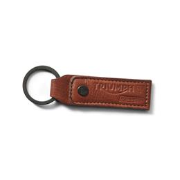 LEATHER KEYRING MUSTARD