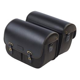 Wax Cotton Luggage - Pair