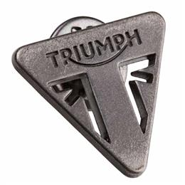 Triumph Metal Triangle Pin Badge
