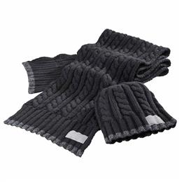 Knitted Scarf & Hat Set