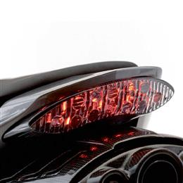 Clear Rear LED Light Unit